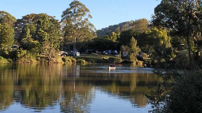 LAST RESORT: Yabba Creek, near where Gympie Regional Council has announced plans to auction a creekside camping resort property for unpaid rates.