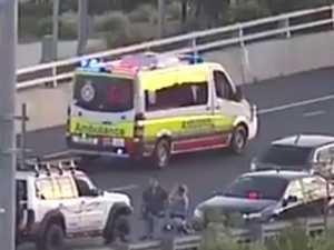 Motorcyclist dies after collision on memorial bridge