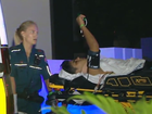 Cairns teenager breaks pelvis in fall at Gold Coast.