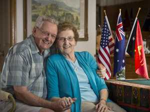 International couple celebrate 50 years together