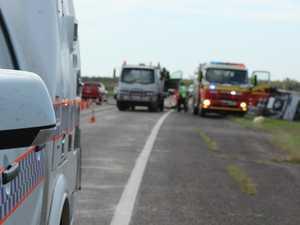 Twin vehicle crash on Bruce Hwy hospitalises four