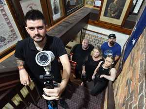 Ghost hunters to spend tonight in Maryborough Town Hall
