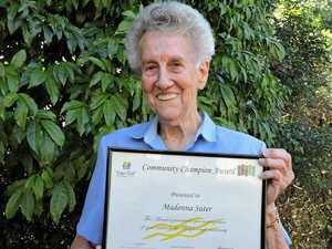 Donna keeps 'grey matter working' by volunteering