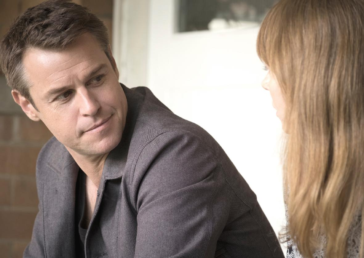 Rodger Corser plays Dr Hugh Knight in season one of Doctor Doctor.
