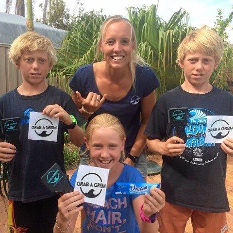 Katelyn Le Roux has helped plenty of groms get sponsored.