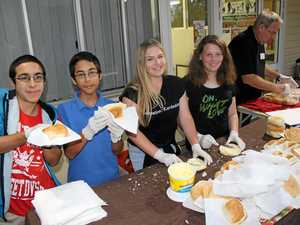 Buderim teens serve up random act of kindness