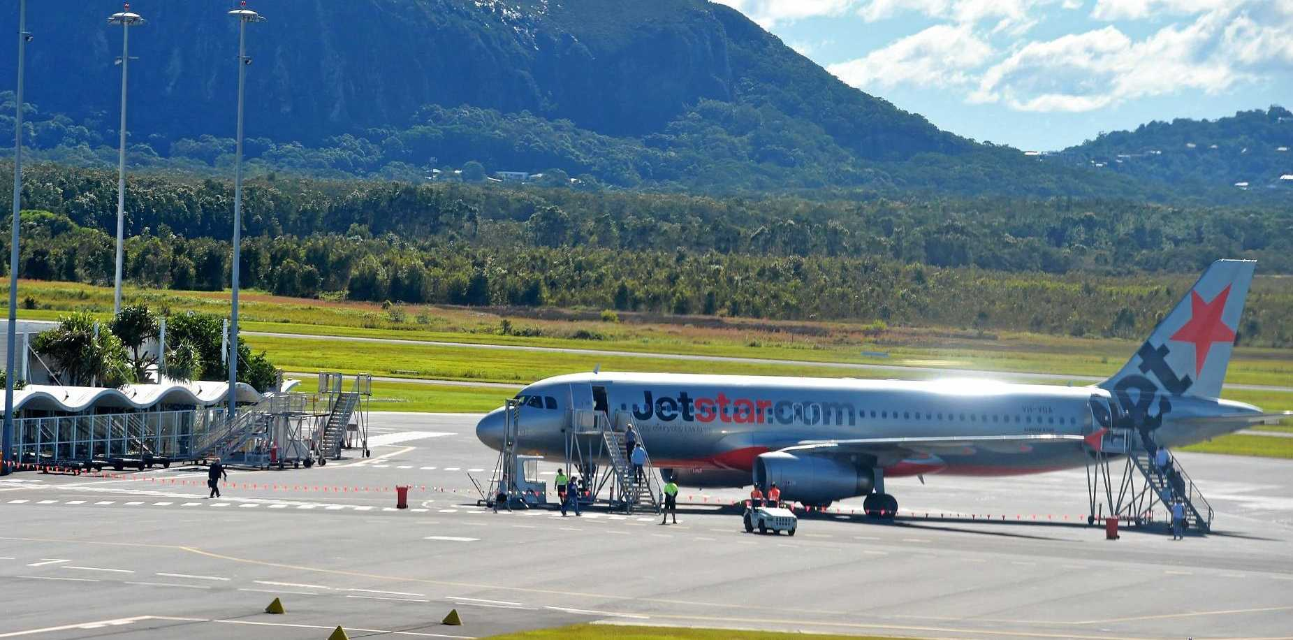 NORTHWARD PUSH: The aiport reports overwhelming support for flights from the Sunshine Coast to Cairns.