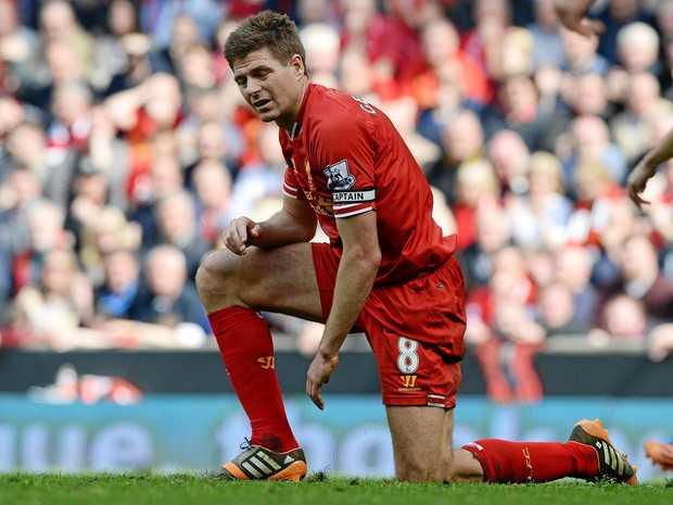 Former Liverpool star Steven Gerrard.