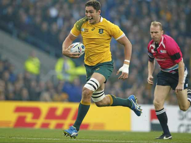 Rob Simmons will the Wallabies' chief lineout caller against Ireland.