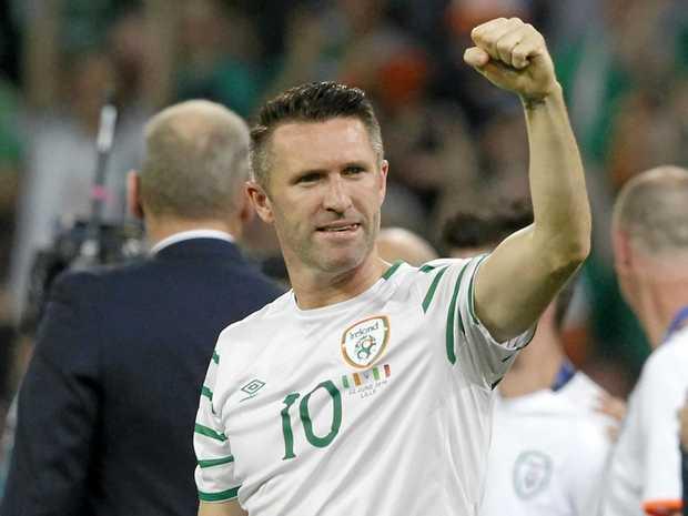 Former Irish international striker Robbie Keane.