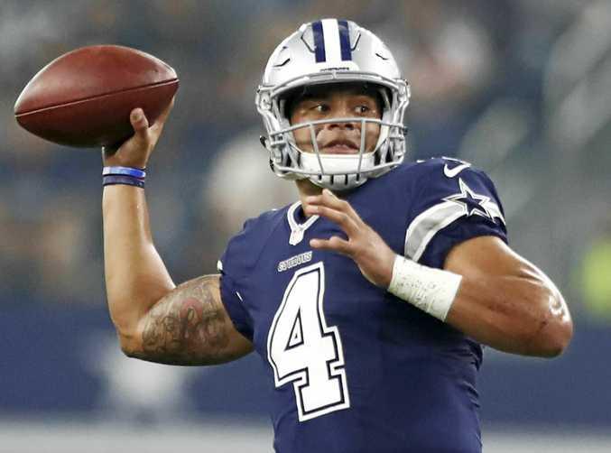 Dallas Cowboys quarterback Dak Prescott.