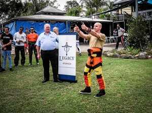 Skydivers jump to help Legacy