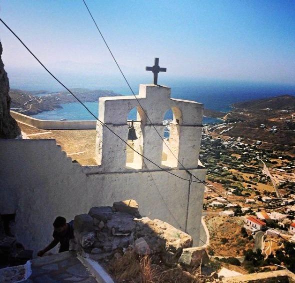 Serifos Island, Greece, June 2016.