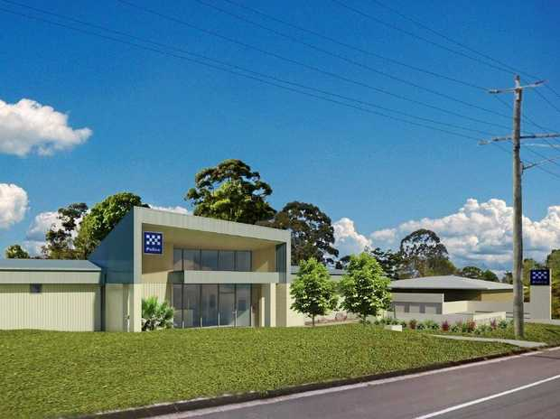 The design of the new Maleny Police Station.