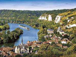 Cruise the French countryside with your own butler