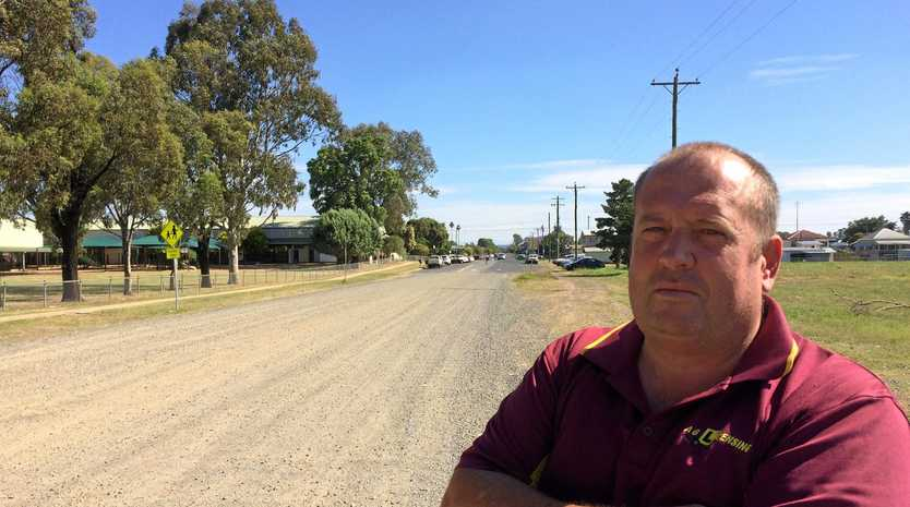 TRAFFIC JAM: Andrew Gale and the Warwick District Community Road Safety Group are concerned not enough has been done to ensure safety around the proposed Bunnings development.