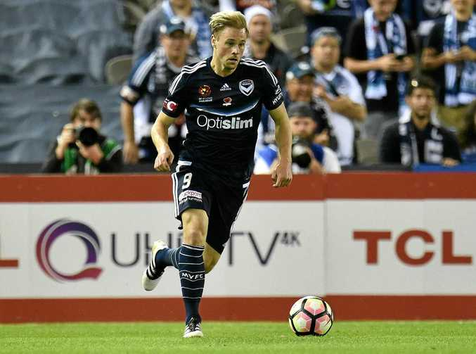 Melbourne Victory player Maximilian Beister.