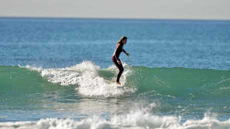 Nava Young is competing at the World Longboard Championships at Riyue Bay in China next month.