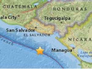 Tsunami warning issued after quake hits Central America