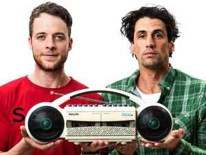 Goooodbye Hamish and Andy (from our radios)