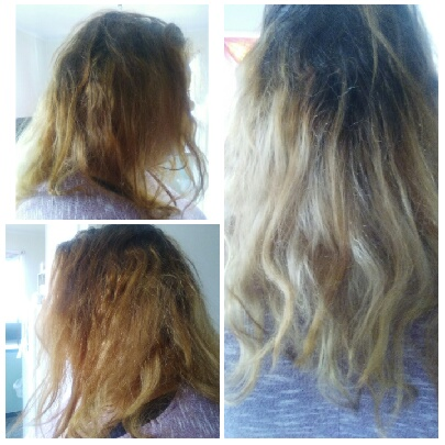 AFTER: It's not at all what she expected when she went to a Gladstone home salon.