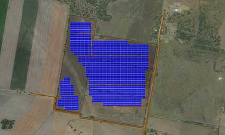 Plans for the Maryrorough Solar project.