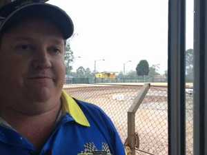 Maryborough Speedway president Wayne Moller