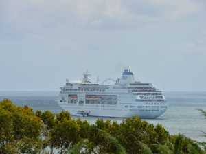 One Pearler of a day as cruise ship comes to town