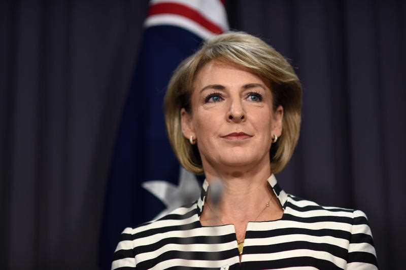Australian Minister for Women Michaelia Cash