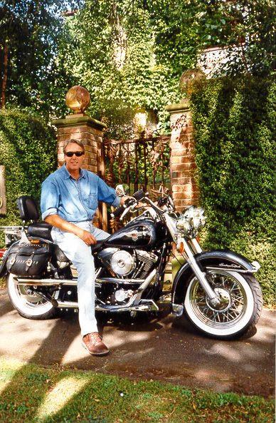 Motorbikes are a part of John Callanan's life.
