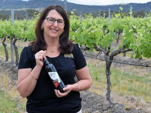 FESTIVE WINES: Leeanne Puglisi-Gangemi, of Ballandean Estate Wines, believes December is a great time to visit the Granite Belt.