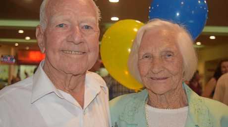 Joseph Donald Cramp with his wife Eileen.