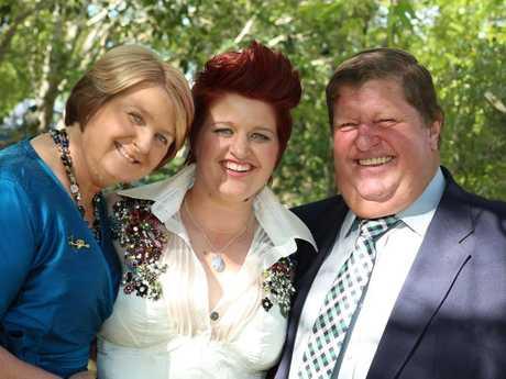 Jill, Kara and Rodney Hopson.