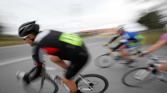CRASH: Cyclists have collided in Mudjimba this morning.