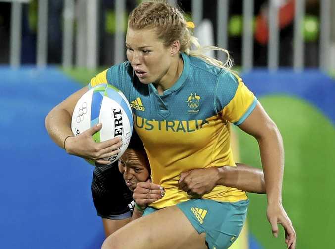 Australia's Emma Tonegato in action.