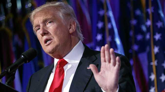 VOTE CHALLENGE: US President-elect Donald Trump.