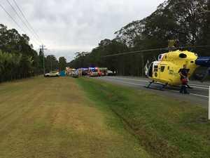 Woman dead, woman critical after horror three-car crash