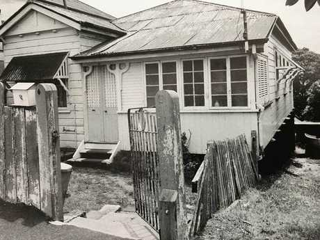 A photo of the McCulkin family home in Highgate Hill in Brisbane.