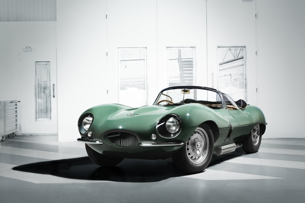 RICH MAN'S PLAYTHING: $1.7million XKSS continuation specials are brand new creations by Jaguar Classic, and are road-going versions of the stunning Le Mans-winning D-Types.
