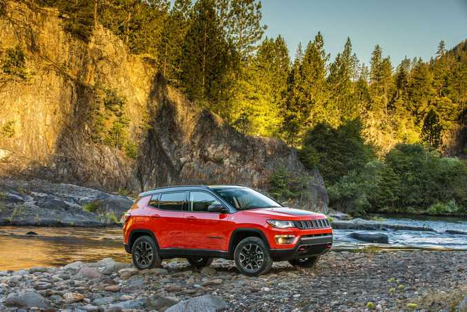 SMALL CHARMS: Jeep claims new Compass will be the most capable small SUV ever.