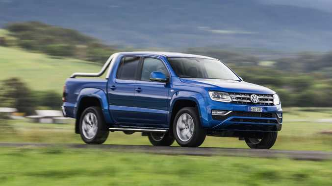 MONSTER TORQUE: 165kW/550Nm turbo V6 diesel for range-topping Amarok in Highline and Ultimate specs.