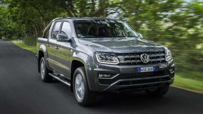 The 2016 Volkswagen Amarok.