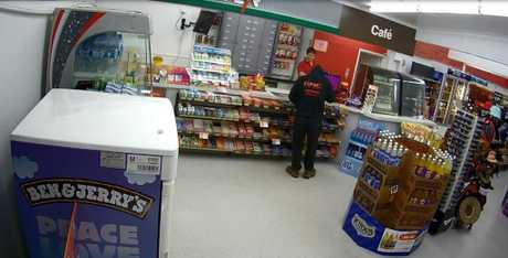 Do you recognise this person? Police are searching for the individual behind the armed robbery incident at the Puma Station on the corner of Walker and Ferry St in Maryborough, on November 27.