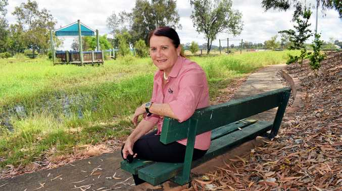 MAKEOVER: Rockhampton regional councillor Ellen Smith is excited to hear news that A Touch of Paradise Lagoons will receive a much-needed restoration   early next year.