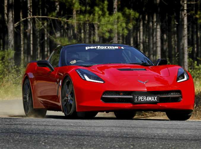 MEAN MACHINE: Performax International's right-hand drive conversion of the Chevrolet Corvette C7 Stingray