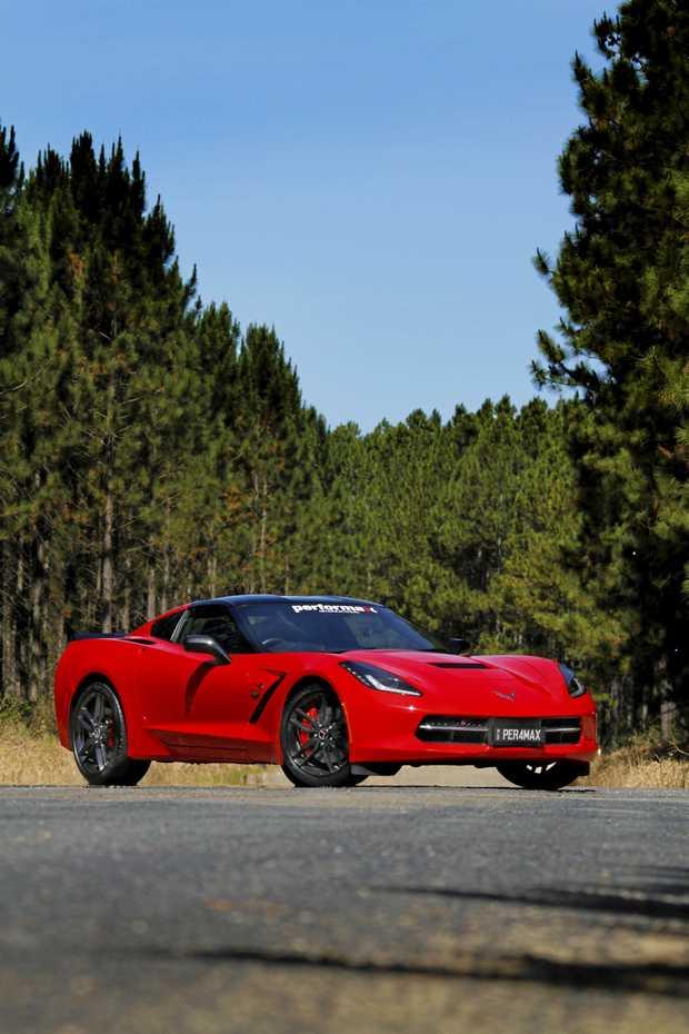2016 Chevrolet Corvette RHD conversion by Performax