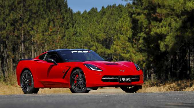 2016 Chevrolet Corvette RHD conversion by Performax