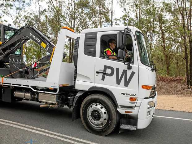 HEAVY OPERATOR: The PW 24 280 proved a strong contender in the light end of the heavy duty market when Big Rigs put it through its paces.