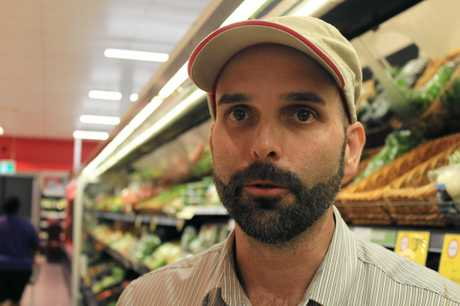 Barry Hartley is a fresh produce assistant and has been with Coles for 21 years.