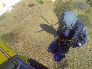 Man rescued from North Coast beach